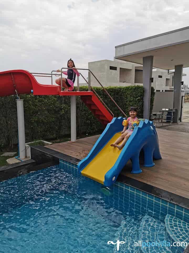 รีวิวจากลูกค้าบ้านพัก Garden Play Pool Villa หัวหิน - 2