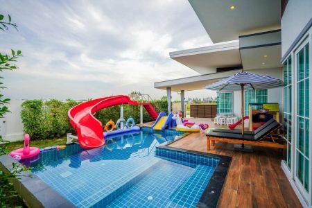 บ้านพักหัวหิน - Garden Play Pool Villa