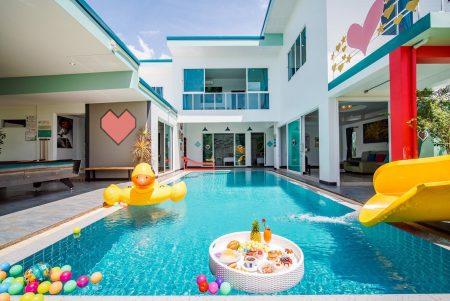 บ้านพักชะอำ - Happiness Pool Villa