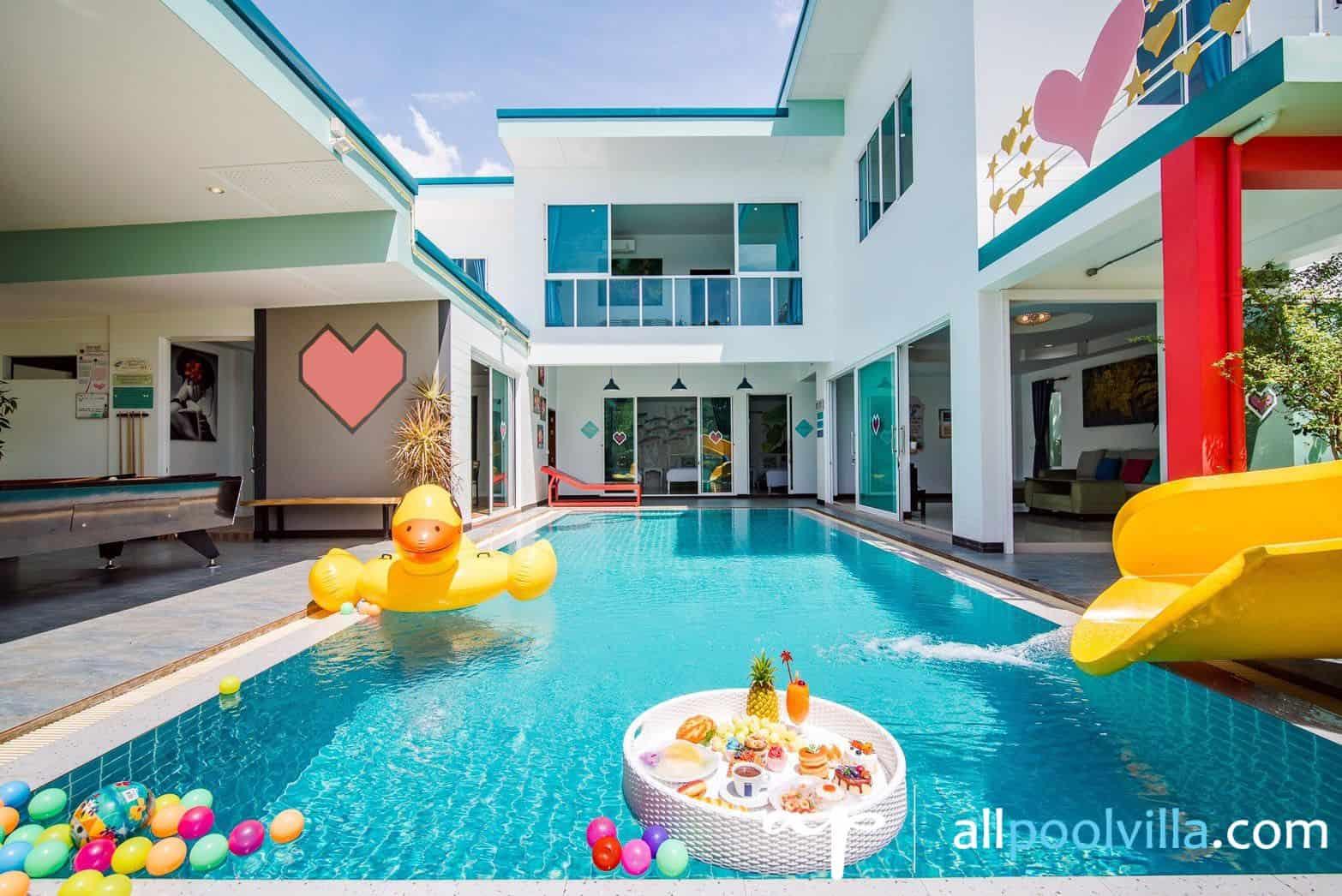 บรรยากาศบ้านพัก Happiness Pool Villa ชะอำ-1