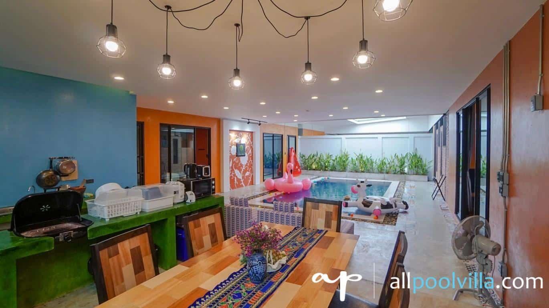 บรรยากาศบ้านพัก Luxury Villa – S3 หัวหิน-1