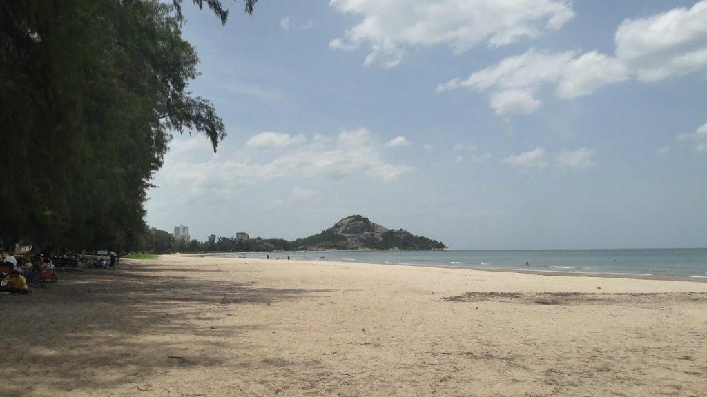 ที่เที่ยวหัวหิน หาดสวนสนประดิพัทธิ์