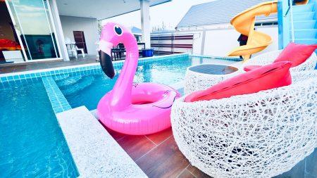 บ้านพักชะอำ - Marine-P Pool Villa