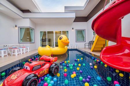 บ้านพักหัวหิน - Garden Memo Pool Villa