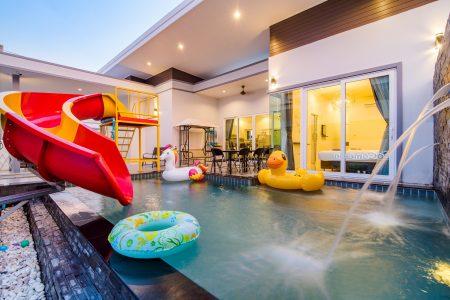 บ้านพักหัวหิน - Playground Pool Villa