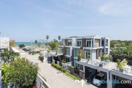 บ้านพักหัวหิน - Near Beach Villa (Twin)