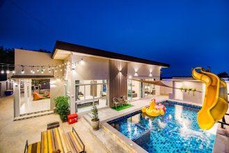 ภาพบรรยากาศบ้านพัก Grace Hua-Hin Villa หัวหิน-2