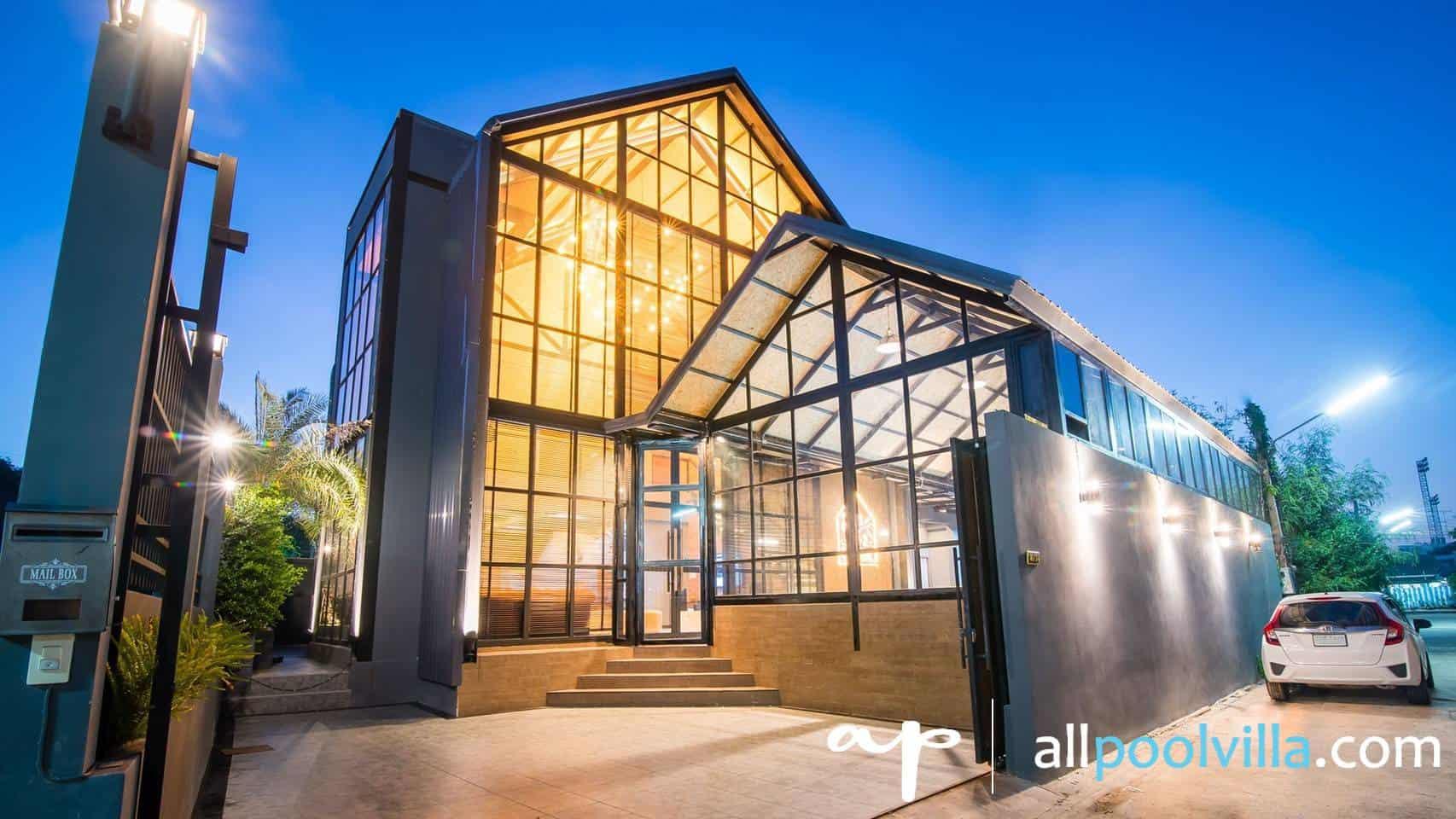 บรรยากาศบ้านพัก Takiab Beach Pool Villa หัวหิน-1