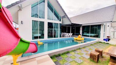 ภาพบรรยากาศบ้านพัก Marine 5 Pool Villa ชะอำ-2