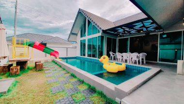 ภาพบรรยากาศบ้านพัก Marine 5 Pool Villa ชะอำ-3