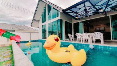 ภาพบรรยากาศบ้านพัก Marine 5 Pool Villa ชะอำ-4