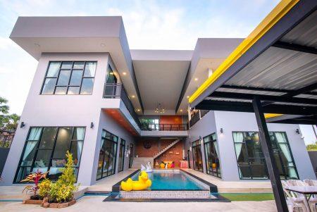 บ้านพักชะอำ - O-Zone Pool Villa