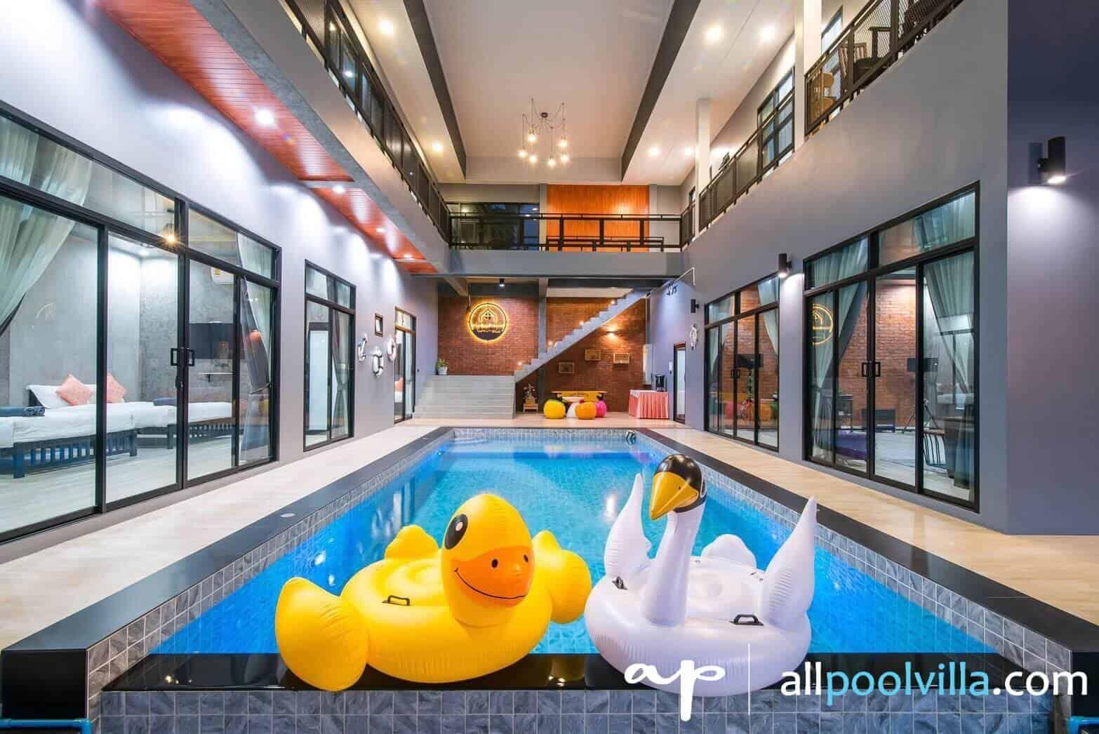 บรรยากาศบ้านพัก O-Zone Pool Villa ชะอำ-1