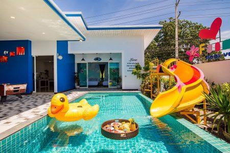บ้านพักหัวหิน - Happiness-2 Pool Villa