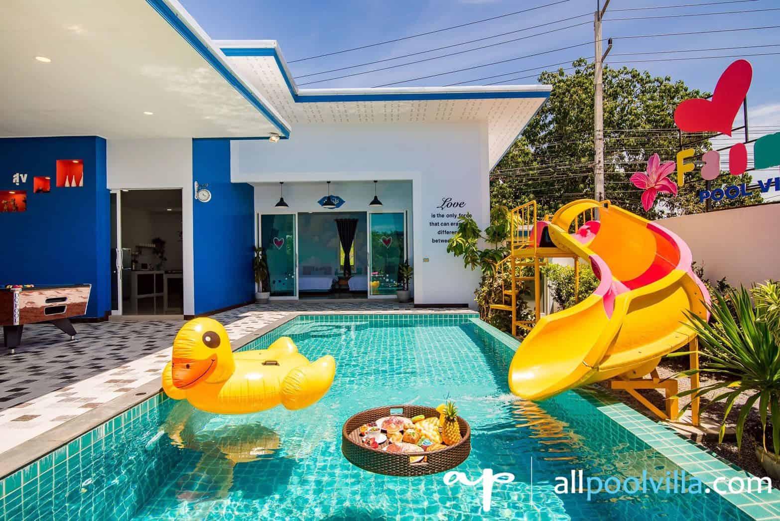 บรรยากาศบ้านพัก Happiness-2 Pool Villa หัวหิน-1