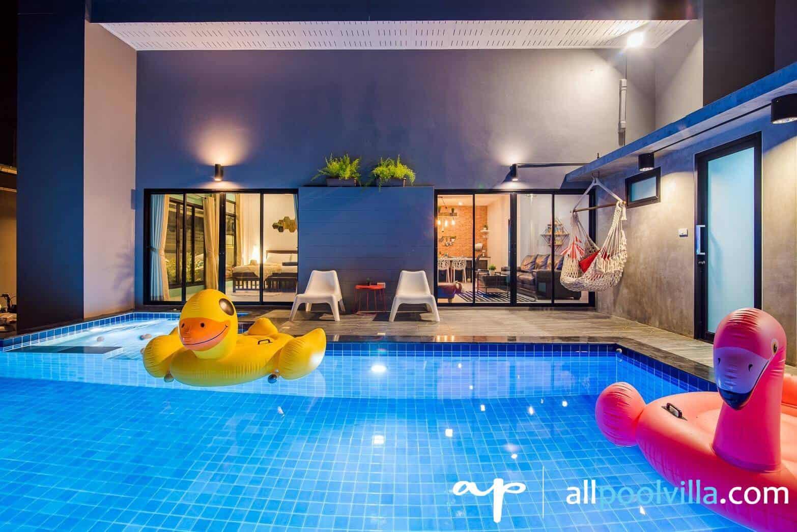 บรรยากาศบ้านพัก Rhythm Pool Villa หัวหิน-1