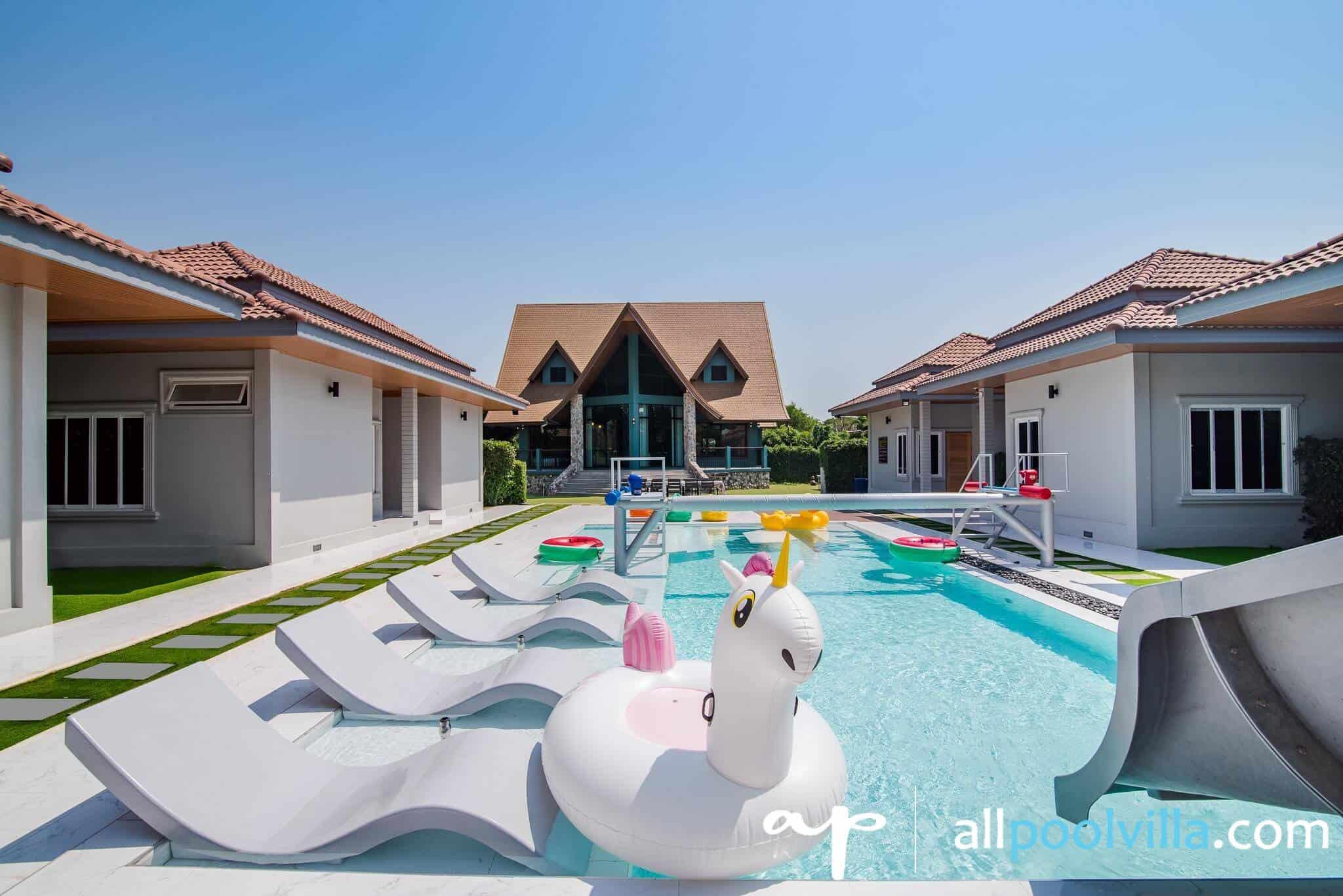 บรรยากาศบ้านพัก Sense – 1 Pool Villa หัวหิน-1