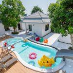 บรรยากาศบ้านพัก Sense – 2 Pool Villa หัวหิน-2