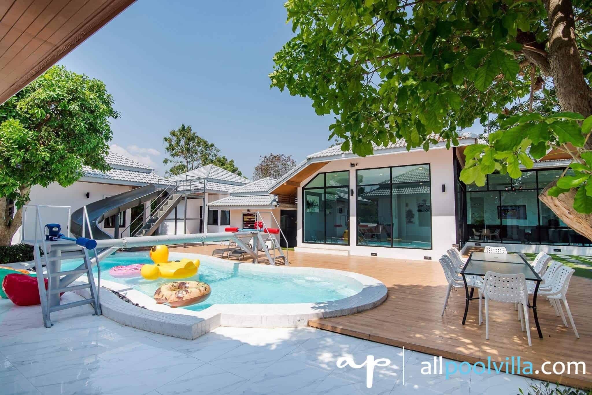 บรรยากาศบ้านพัก Sense – 2 Pool Villa หัวหิน-1
