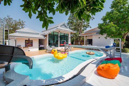 บ้านพักหัวหิน - Sense – 2 Pool Villa