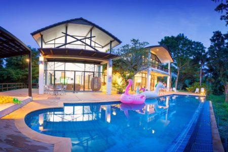 บ้านพักเขาใหญ่ - Valence Pool Villa 1