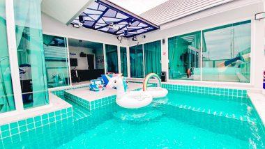 ภาพบรรยากาศบ้านพัก Marine 6 Pool Villa ชะอำ-3
