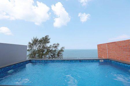 บ้านพักพัทยา - Sand Beach Pool Villa – 4 Bed Room