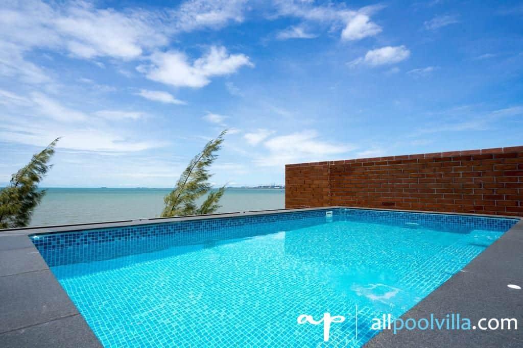 บรรยากาศบ้านพัก Sand Beach Pool Villa – 4 Bed Room พัทยา-1