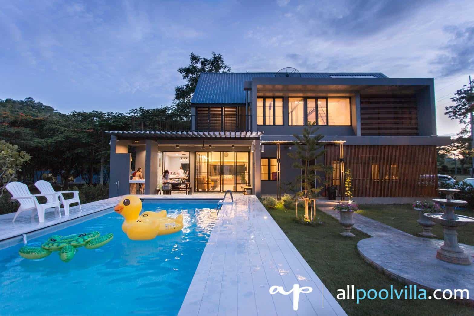 บรรยากาศบ้านพัก Noble Pool Villa เขาใหญ่-1