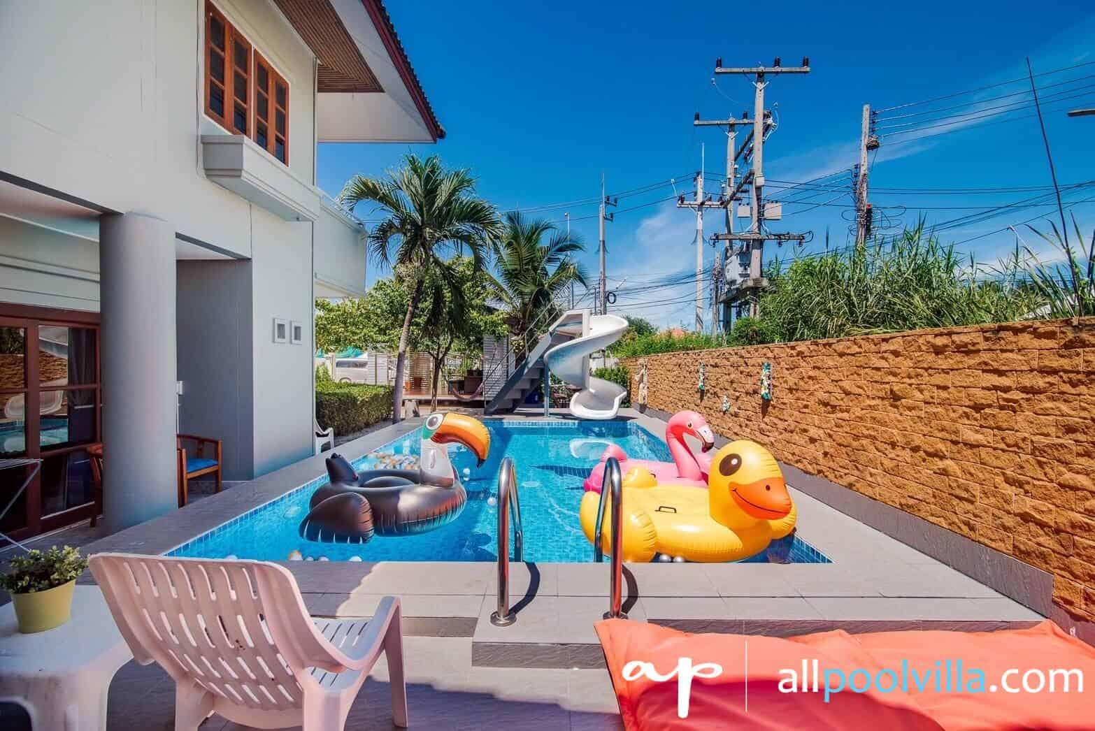 บรรยากาศบ้านพัก Enjoy The Sea Pool Villa หัวหิน-1
