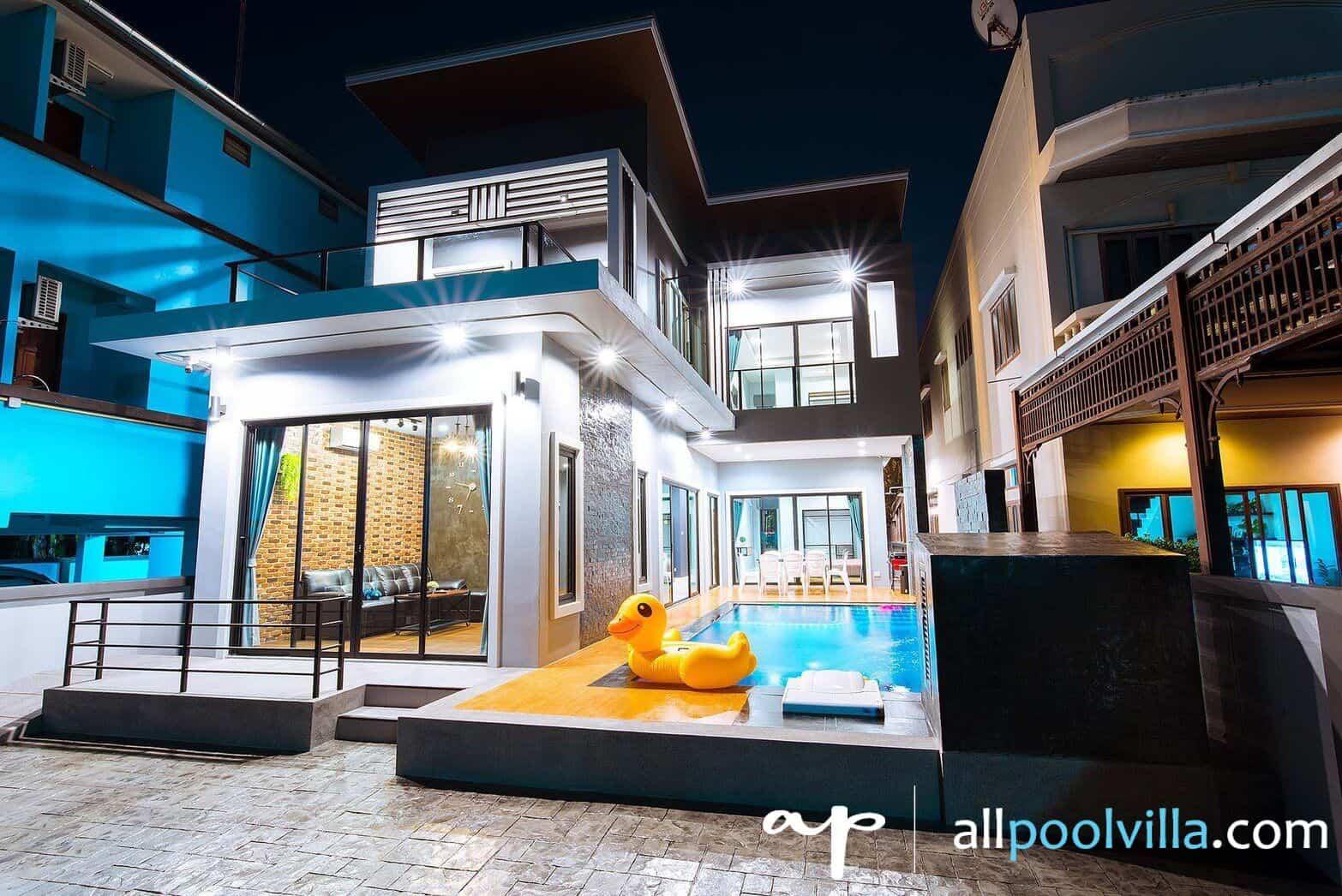 บรรยากาศบ้านพัก Cosmos Pool Villa หัวหิน-1