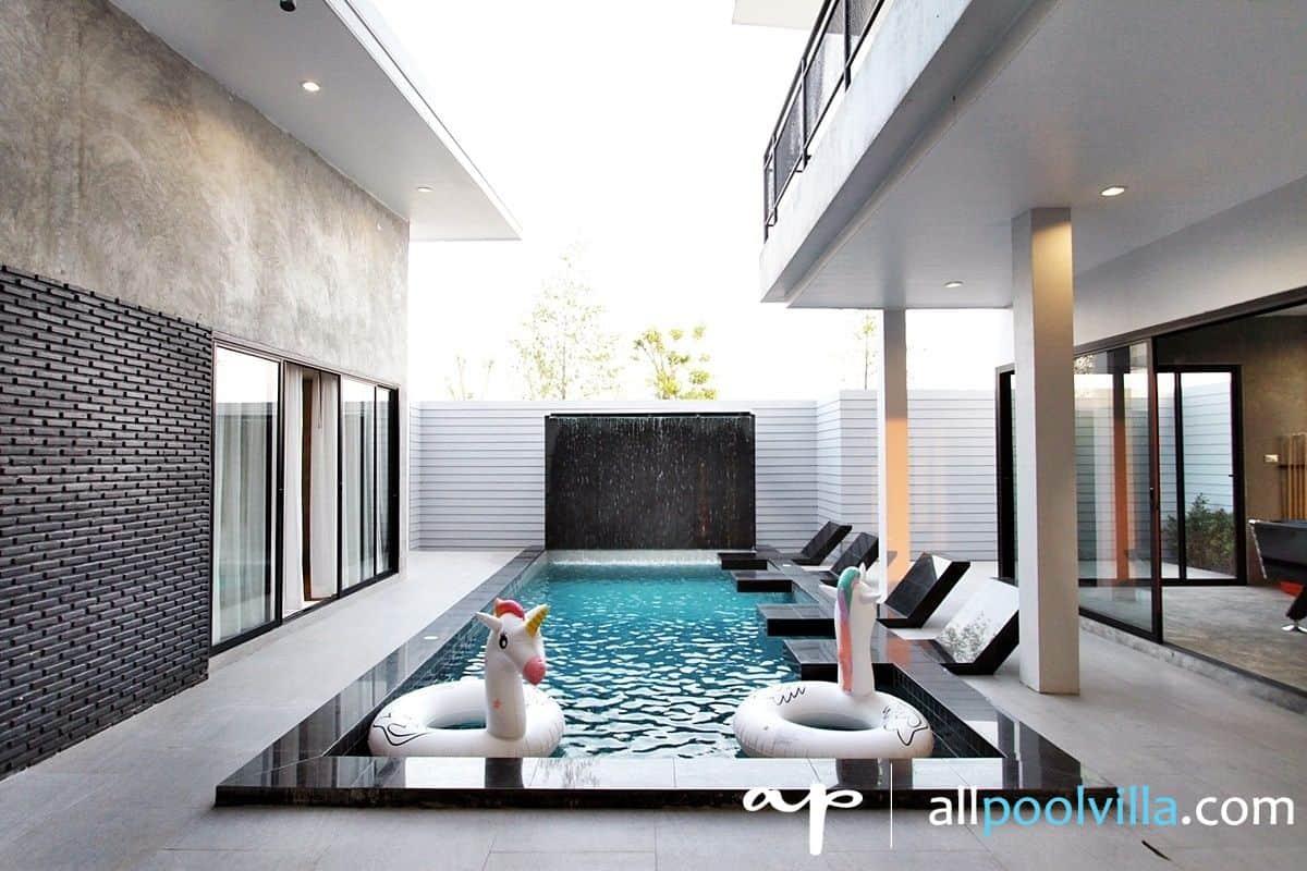 บรรยากาศบ้านพัก Garden L – 35 Pool Villa หัวหิน-1