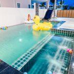 บรรยากาศบ้านพัก Garden Loft 25 Pool Villa หัวหิน-3