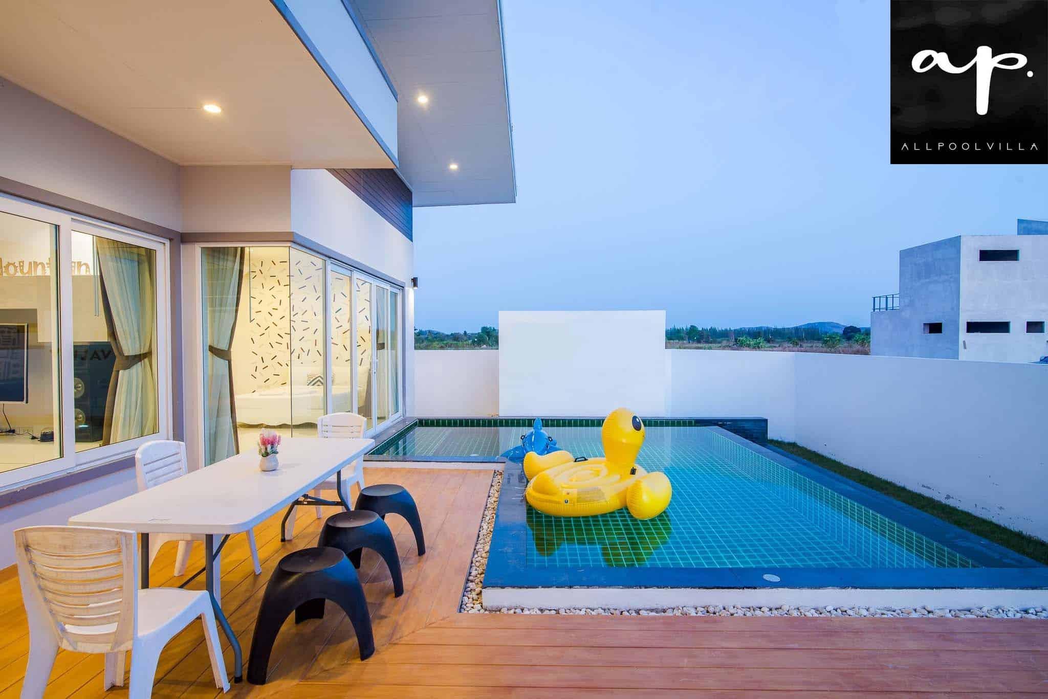 บรรยากาศบ้านพัก Green Mountain Pool Villa หัวหิน-1