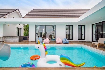บ้านพักหัวหิน - White Rose Pool Villa