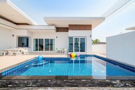 บ้านพักหัวหิน - Garden L – 24 Pool Villa