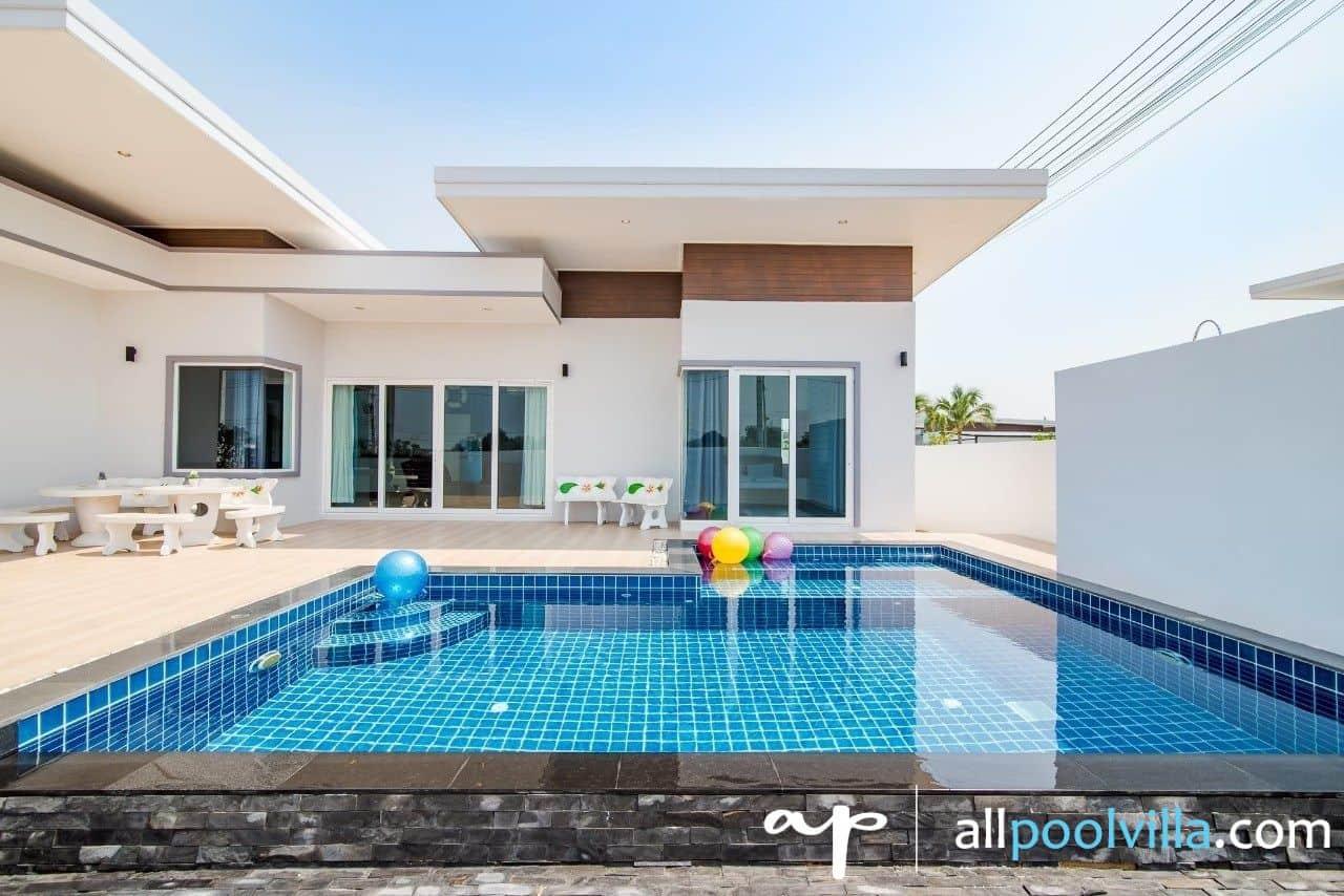 บรรยากาศบ้านพัก Garden L – 24 Pool Villa หัวหิน-1