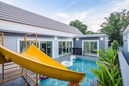 บ้านพักหัวหิน - Disney Pool Villa