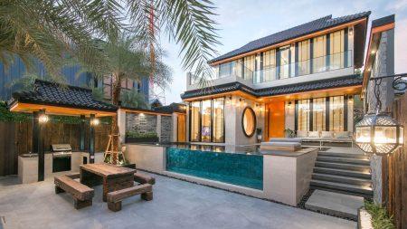บ้านพักหัวหิน - Takiab Paradise Pool Villa