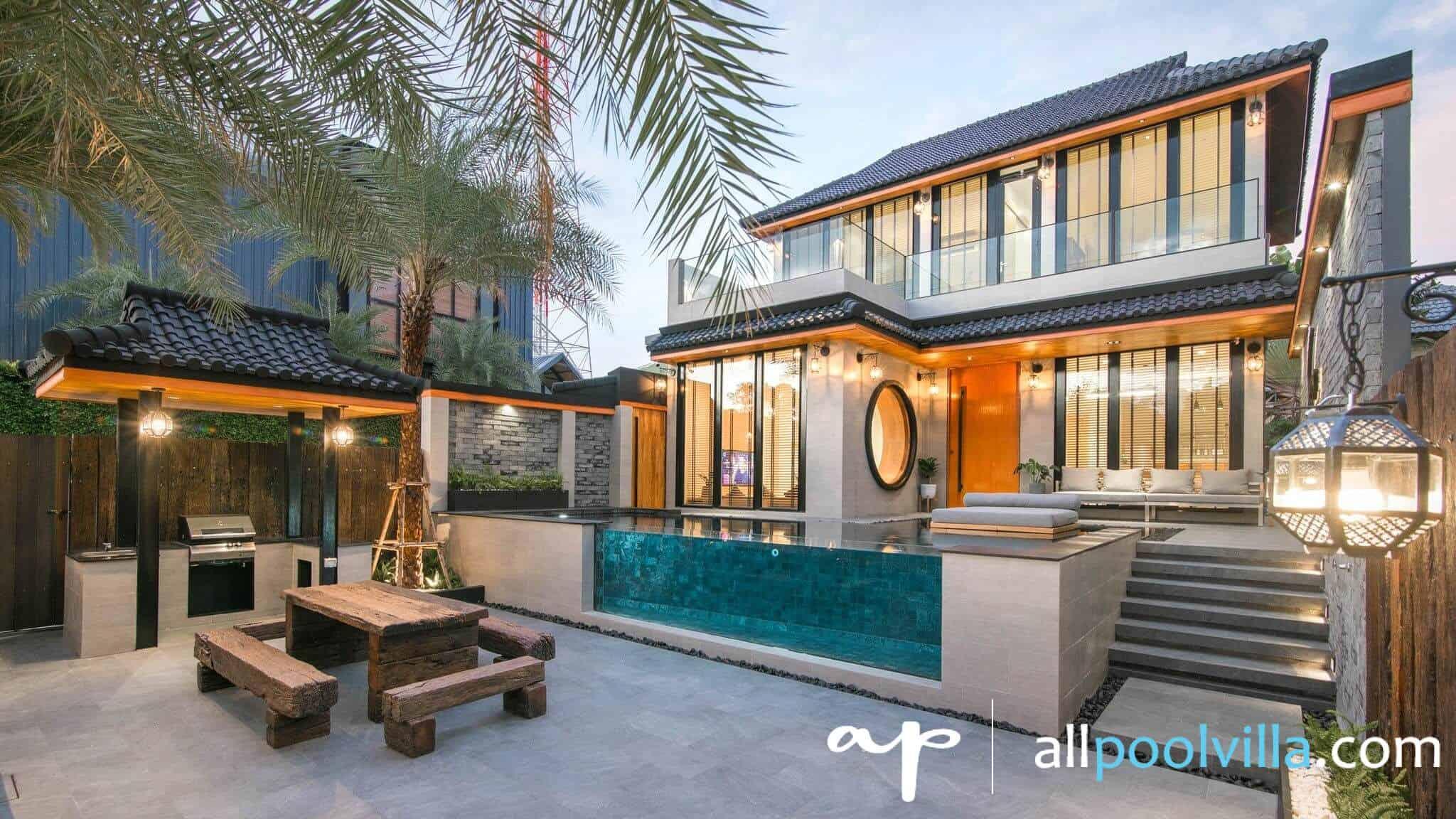 บรรยากาศบ้านพัก Takiab Paradise Pool Villa หัวหิน-1