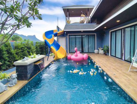 บ้านพักชะอำ - Attitude Pool Villa
