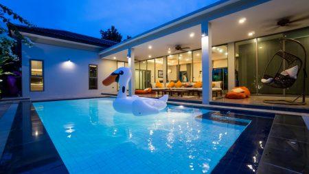 บ้านพักพัทยา - Vanin Pool Villa ( 5 Bedrooms )