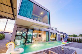 ภาพบรรยากาศบ้านพัก Wonder 2 Pool Villa หัวหิน-5