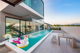 ภาพบรรยากาศบ้านพัก Wonder 2 Pool Villa หัวหิน-2