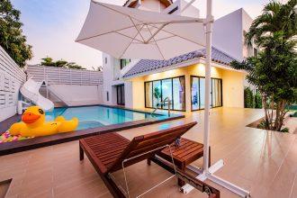 ภาพบรรยากาศบ้านพัก Demo Beach Pool Villa หัวหิน-6