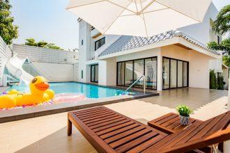 ภาพบรรยากาศบ้านพัก Demo Beach Pool Villa หัวหิน-5