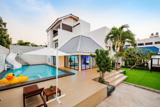 ภาพบรรยากาศบ้านพัก Demo Beach Pool Villa หัวหิน-4