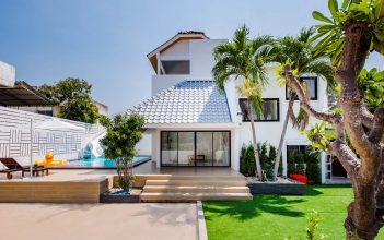 ภาพบรรยากาศบ้านพัก Demo Beach Pool Villa หัวหิน-2
