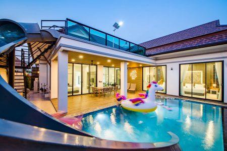 บ้านพักหัวหิน - Relax Time Pool Villa