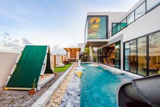 ภาพบรรยากาศบ้านพัก Wonder 3 Pool Villa หัวหิน-3